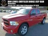 2014 Flame Red Ram 1500 Express Quad Cab 4x4 #89265362
