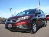 2012 Basque Red Pearl II Honda CR-V LX #89265449