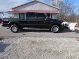 2003 Black Ford F250 Super Duty XLT Crew Cab 4x4 #89275008