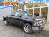 2014 Tungsten Metallic Chevrolet Silverado 1500 LT Double Cab 4x4 #89274706