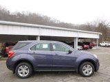 2014 Atlantis Blue Metallic Chevrolet Equinox LS AWD #89274751