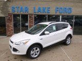 2014 Oxford White Ford Escape SE 1.6L EcoBoost 4WD #89274948