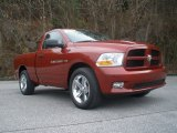 2012 Deep Cherry Red Crystal Pearl Dodge Ram 1500 Express Regular Cab #89274934