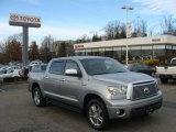 2008 Silver Sky Metallic Toyota Tundra Limited CrewMax 4x4 #89274820