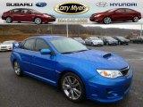 2012 WR Blue Mica Subaru Impreza WRX STi 4 Door #89274980