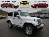 2011 Bright White Jeep Wrangler Sahara 4x4 #89274979