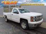 2014 Summit White Chevrolet Silverado 1500 LT Regular Cab 4x4 #89274711