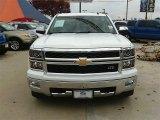 2014 Summit White Chevrolet Silverado 1500 LTZ Crew Cab 4x4 #89300784