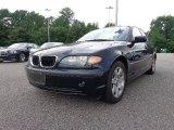 2003 Orient Blue Metallic BMW 3 Series 325i Sedan #89300712