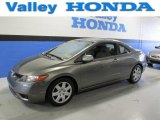 2006 Galaxy Gray Metallic Honda Civic LX Coupe #89300696