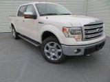2014 White Platinum Ford F150 Lariat SuperCrew 4x4 #89300886