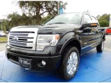 2014 Tuxedo Black Ford F150 Platinum SuperCrew 4x4 #89336530