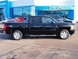 2013 Black Chevrolet Silverado 1500 LTZ Crew Cab 4x4 #89336488