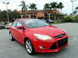 2012 Race Red Ford Focus SEL 5-Door #89336521