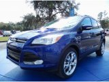 2014 Deep Impact Blue Ford Escape Titanium 2.0L EcoBoost #89336547