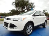 2014 White Platinum Ford Escape Titanium 1.6L EcoBoost #89336544