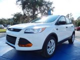 2014 Oxford White Ford Escape S #89336543