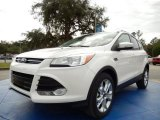 2014 White Platinum Ford Escape Titanium 2.0L EcoBoost #89336542