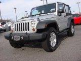 2012 Bright Silver Metallic Jeep Wrangler Sport 4x4 #89351045