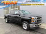 2014 Black Chevrolet Silverado 1500 LT Z71 Crew Cab 4x4 #89350937