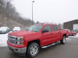 2014 Victory Red Chevrolet Silverado 1500 LT Crew Cab 4x4 #89351096