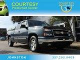 2006 Blue Granite Metallic Chevrolet Silverado 1500 LS Extended Cab #89350980