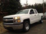 2014 Summit White Chevrolet Silverado 1500 WT Double Cab #89351032