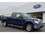 2014 Blue Jeans Ford F150 XLT SuperCab #89351065