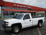 2003 Summit White Chevrolet Silverado 1500 Regular Cab #8927786