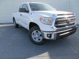 2014 Super White Toyota Tundra SR5 Double Cab #89351115