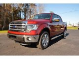 2014 Ruby Red Ford F150 Lariat SuperCrew #89381846
