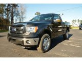 2014 Tuxedo Black Ford F150 XL Regular Cab 4x4 #89381844