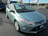 2012 Frosted Glass Metallic Ford Focus SEL 5-Door #89381569