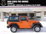 2012 Crush Orange Jeep Wrangler Sport 4x4 #89381670