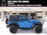 2012 Cosmos Blue Jeep Wrangler Sport 4x4 #89381668