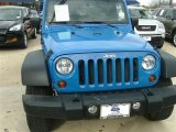2011 Cosmos Blue Jeep Wrangler Unlimited Mojave 4x4 #89381597