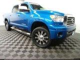 2007 Blue Streak Metallic Toyota Tundra Limited CrewMax 4x4 #89381816