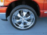 2008 Dodge Ram 1500 SLT Quad Cab Custom Wheels