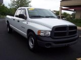 2003 Bright White Dodge Ram 1500 ST Quad Cab #8930601