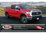 2014 Radiant Red Toyota Tundra SR5 TRD Crewmax 4x4 #89410215