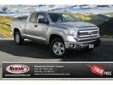 2014 Silver Sky Metallic Toyota Tundra SR5 Double Cab 4x4 #89410213