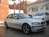 2005 Titanium Silver Metallic BMW 3 Series 325i Sedan #89410345
