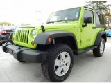 2012 Gecko Green Jeep Wrangler Sport 4x4 #89410339