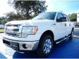 2014 Oxford White Ford F150 XLT SuperCrew #89410330