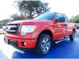 2014 Race Red Ford F150 STX SuperCab #89410329