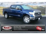 2014 Blue Ribbon Metallic Toyota Tundra SR5 Crewmax 4x4 #89410218