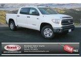2014 Super White Toyota Tundra SR5 Crewmax 4x4 #89410217
