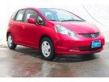 2013 Milano Red Honda Fit  #89410406