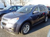 2014 Atlantis Blue Metallic Chevrolet Equinox LT AWD #89431428