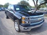 2014 Black Chevrolet Silverado 1500 LT Crew Cab #89433958